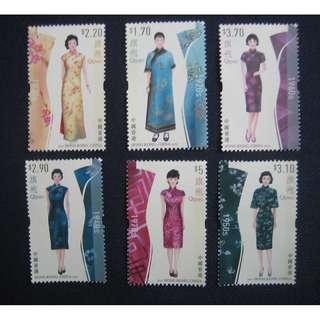 香港2017-旗袍-郵票