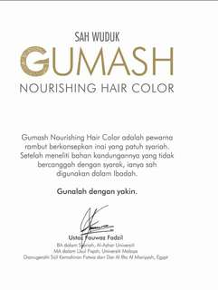 Gumash Hair Color