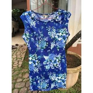 Flower mini dress (preloved)