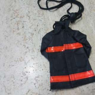 Display fire fighter jacket