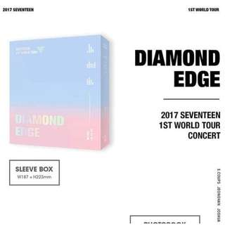 SEVENTEEN-2017 1ST WORLD TOUR DIAMOND EDGE IN SEOUL DVD