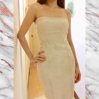 Herve Leger Brand New Shoulderless Short Bandage Dress
