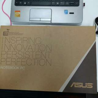 Notebook Asus X201e Second
