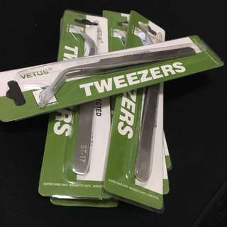 Tweezer for eyelash extension - Vetus ST17