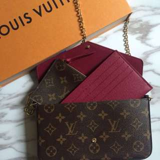 Brand new LV wallet on chain