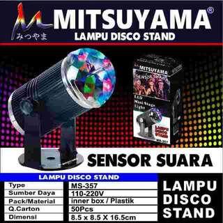 Lampu disko sensor suara