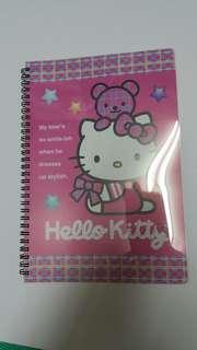 全新 Kitty貓筆記本(粉色)收藏品