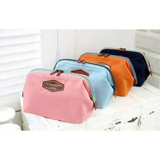 Korean multifunctional cotton cosmetic pouch