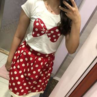 Minnie Set (Top & Skirt)