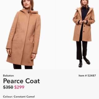 Aritzia Pearce Wool Coat