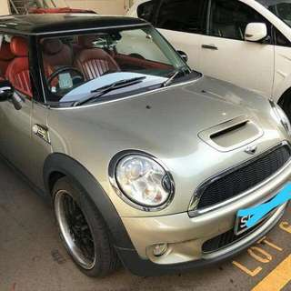 Mini Cooper S R56 Turbo 1.6L 6-Speed Automatic      -(SG)-  Year 2008