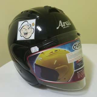 2302♡♡TSR RAM4 Helmet CONVERT TO ARAI 🦀 For SALE, Yamaha Jupiter, Spark, Sniper,, Honda, SUZUKI