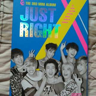 GOT7 JUST RIGHT ALBUM (UNSEAL)
