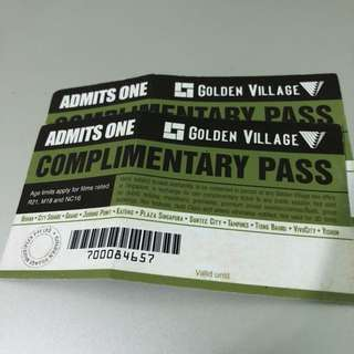 GV Movie Complimentary Pass