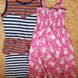 Pambahay dresses for 7-8yrs old