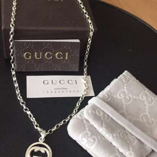 100% authentic gucci necklace last price posted This is free shipping item
