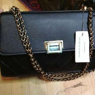 Original CHARLES & KEITH sling bag