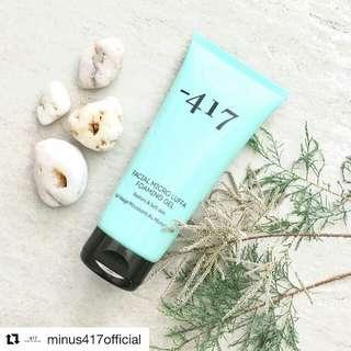 Minus 417 facial wash
