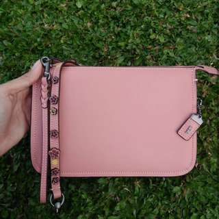 COACH SLING BAG TEA ROSE SAY BAGUSS BGTTTT 😍😍😍😍