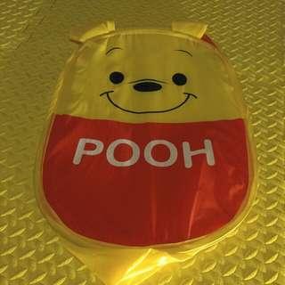 Winnie the Poon 摺合式洗衣籃