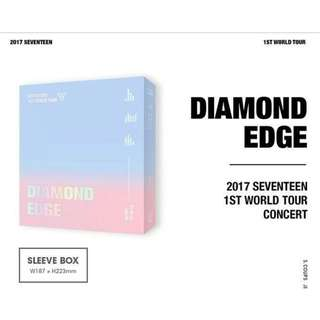[MYGO/PO] SEVENTEEN 2017 First World Tour Diamond Edge in Seoul DVD