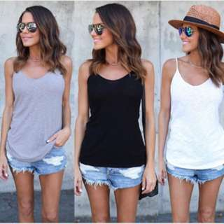 PO Summer loose tank top