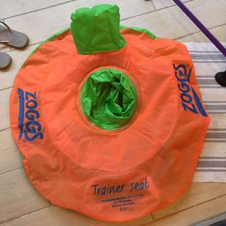 Trainer swimming inflatable seat