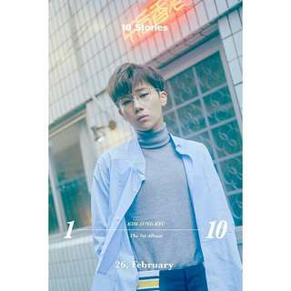 [MYGO/PO] INFINITE KIM SUNGKYU 1st Album - 10 Stories