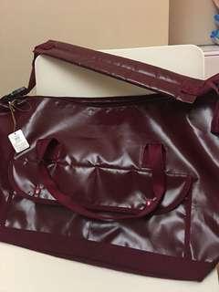 Tokyo yoshida & co.Ltd porter 紅色 膠面 大旅行袋