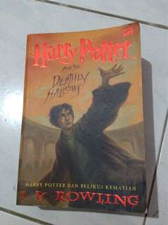 Harry Potter dan Relikui Kematian (Soft Cover)
