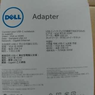 USB-C to HDMI/VGA/Ethernet/usb3 DA200