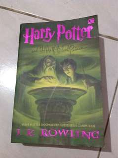 Harry Potter dan Pangeran Berdarah Campuran (Soft Cover)