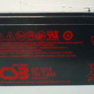 Lead acid battery 12v 7.2ah