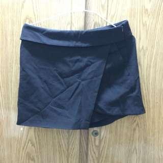 (有PC)黑色褲裙