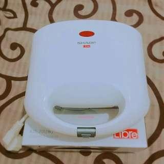 SHARP KZS-70L(W) Sandwich Toaster Pemanggang Sandwich