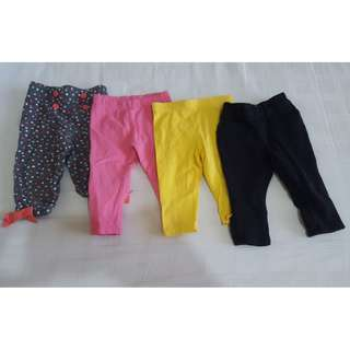 Mothercare and Gymboree Leggings