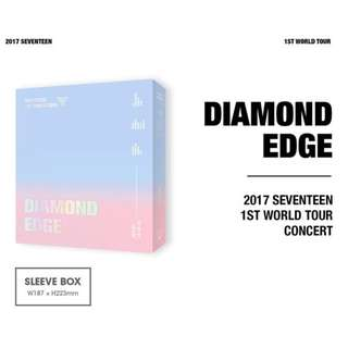 SEVENTEEN - 2017 1st World Tour Diamond Edge DVD