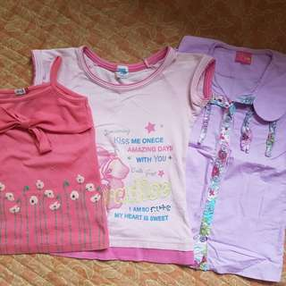 Tops set for 7-8 yrs.old