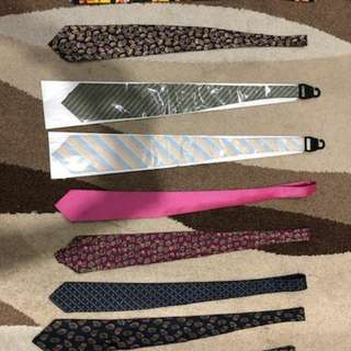 1500 for 1 set or 200p each tie
