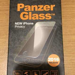 Privacy tempered glass screen protector iphone 7 or 8