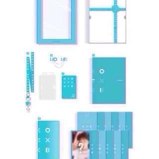 Official Wanna One Membership Kit Loose Item