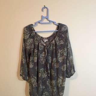 Temt size 10 blouse