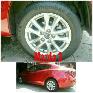 Tyre 205/60 R16 Membat on Mazda 3 🐕 Super Offer 🙋‍♂️