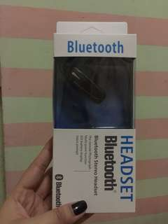 Bluetooth Headset and Powerbank