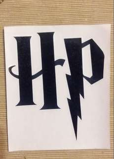 Instock Harry Potter Decal Sticker