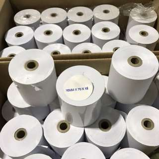 Paper roll for receipt printer ( 90 rolls )
