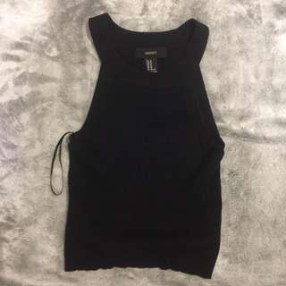 Forever 21 Black Halter Top