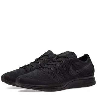 8e397d6a6dd6 Nike Flyknit Trainer Triple Black