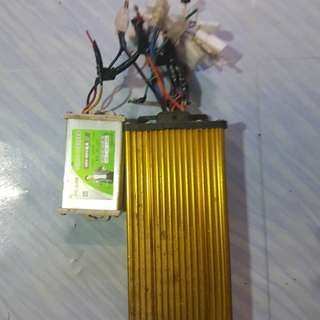 Controller 84v 1000w comes wif conveter