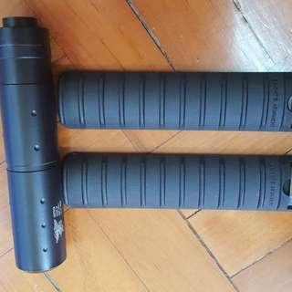 氣槍用Rail Cover&假狗Silencer